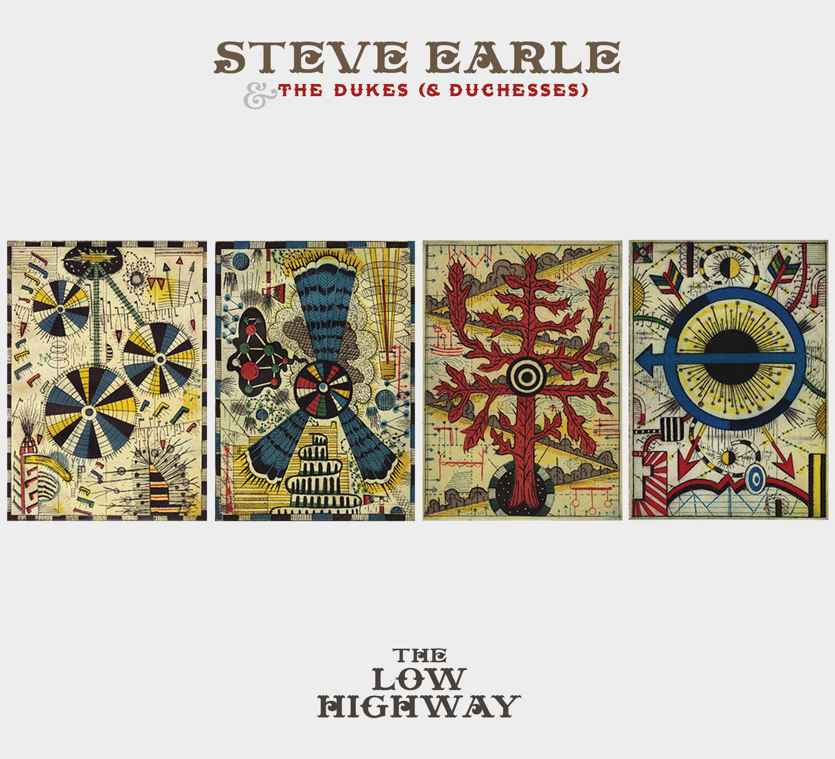 Steve Earle: Low Highway