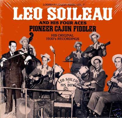 Leo Soileau: Louisiana Cajun Music Vol. 7 Old Timey LP 125 ...