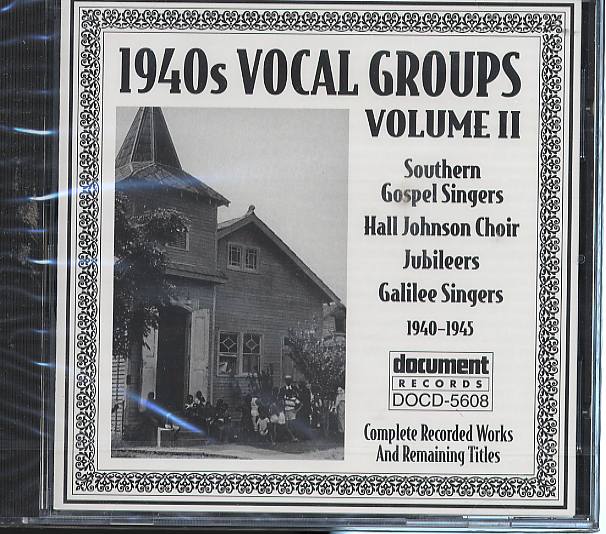 Various Artists - 1940's Vocal Groups Vol  2 DOC 5608