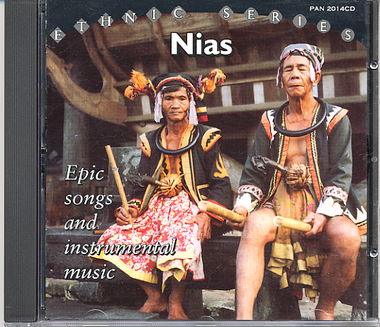 NIAS - Epic Songs & Instrumental Music from Indonesia / Pan CD-2014