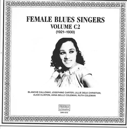 FEMALE BLUES SINGERS VOL  C2 / SELMERPHONE LP-4018