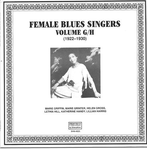 FEMALE BLUES SINGERS VOL  G/H / SELMERPHONE LP-4023