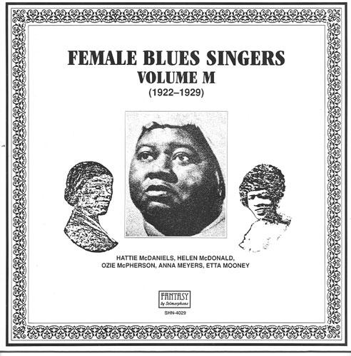 FEMALE BLUES SINGERS VOL  M (1922-1929) / SELMERPHONE 4029 LP