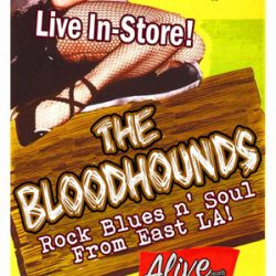 The BLOODHOUNDS In-Store Concert